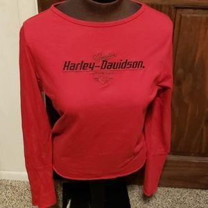 Small harley davidson top